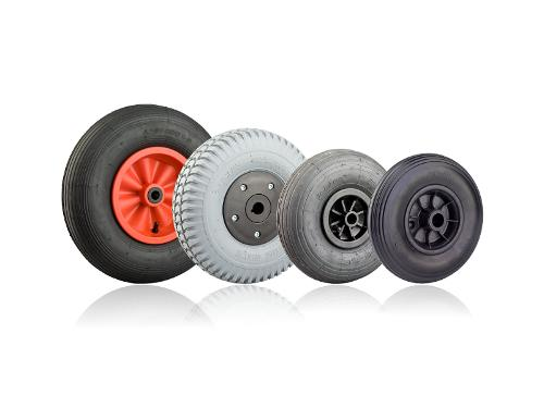Wheels for boat trailers