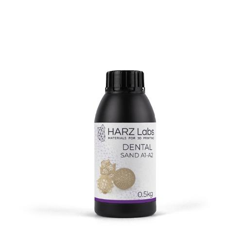 HARZ Labs Dental Sand (A1-A2) Resin (0,5 kg)