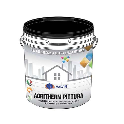 Washable acrylic water-based paint, Acritherm Pittura