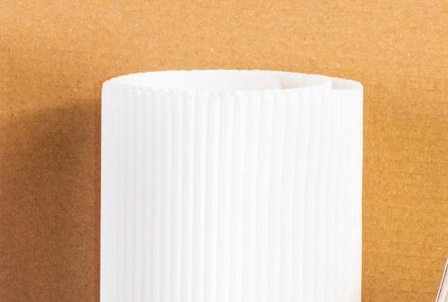 Papier ondulé alimentaire simple face
