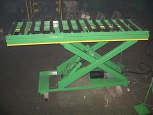 Scissor hydraulic table