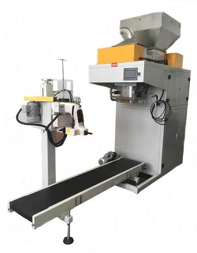Automatic weighing and packing line (powder)