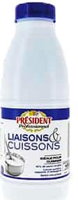CREME LIQUIDE PRESIDENT LIAISON CUISSON 1L